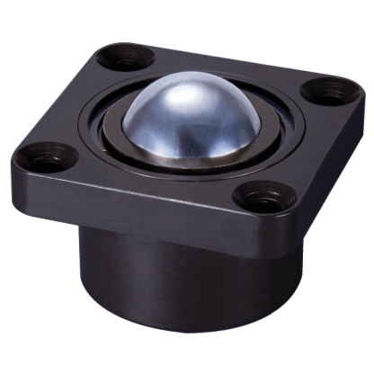 black housed ball transfer unit 93-b